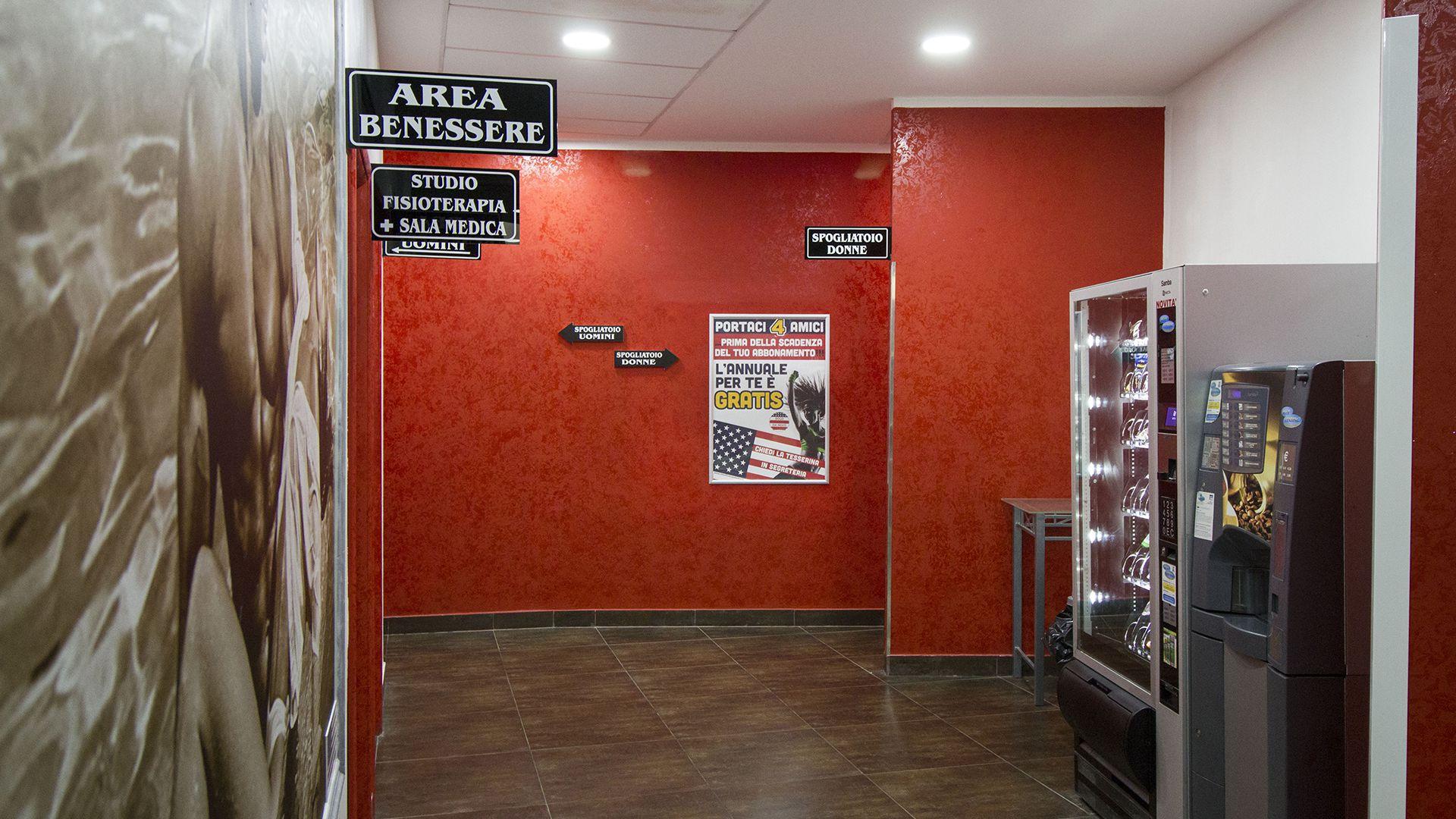 Area Benessere Medico Fisioterapia Palestra Roma