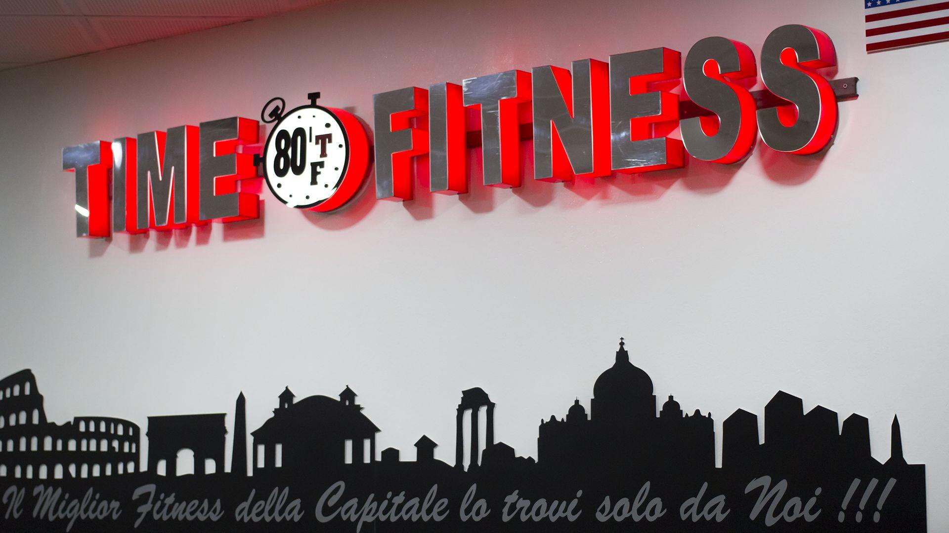 Ingresso Palestra Time Fitness Roma Tuscolana