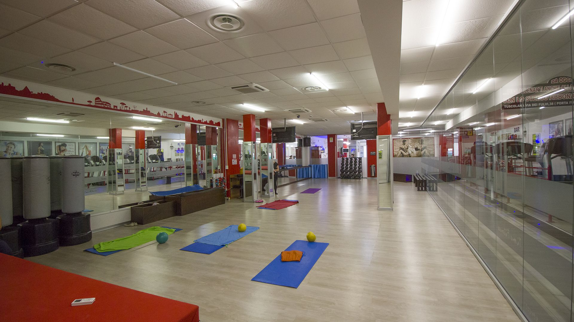 Palestra Tuscolana area Fitness