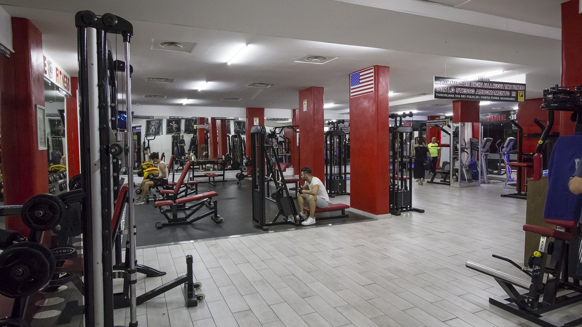 Palestre Time Fitness Roma Sala Pesi