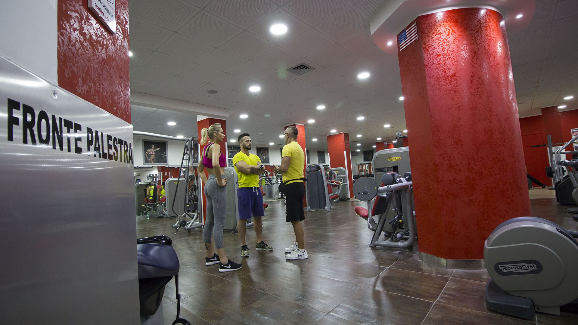 Panoramica Palestra Time Fitness Quadraro