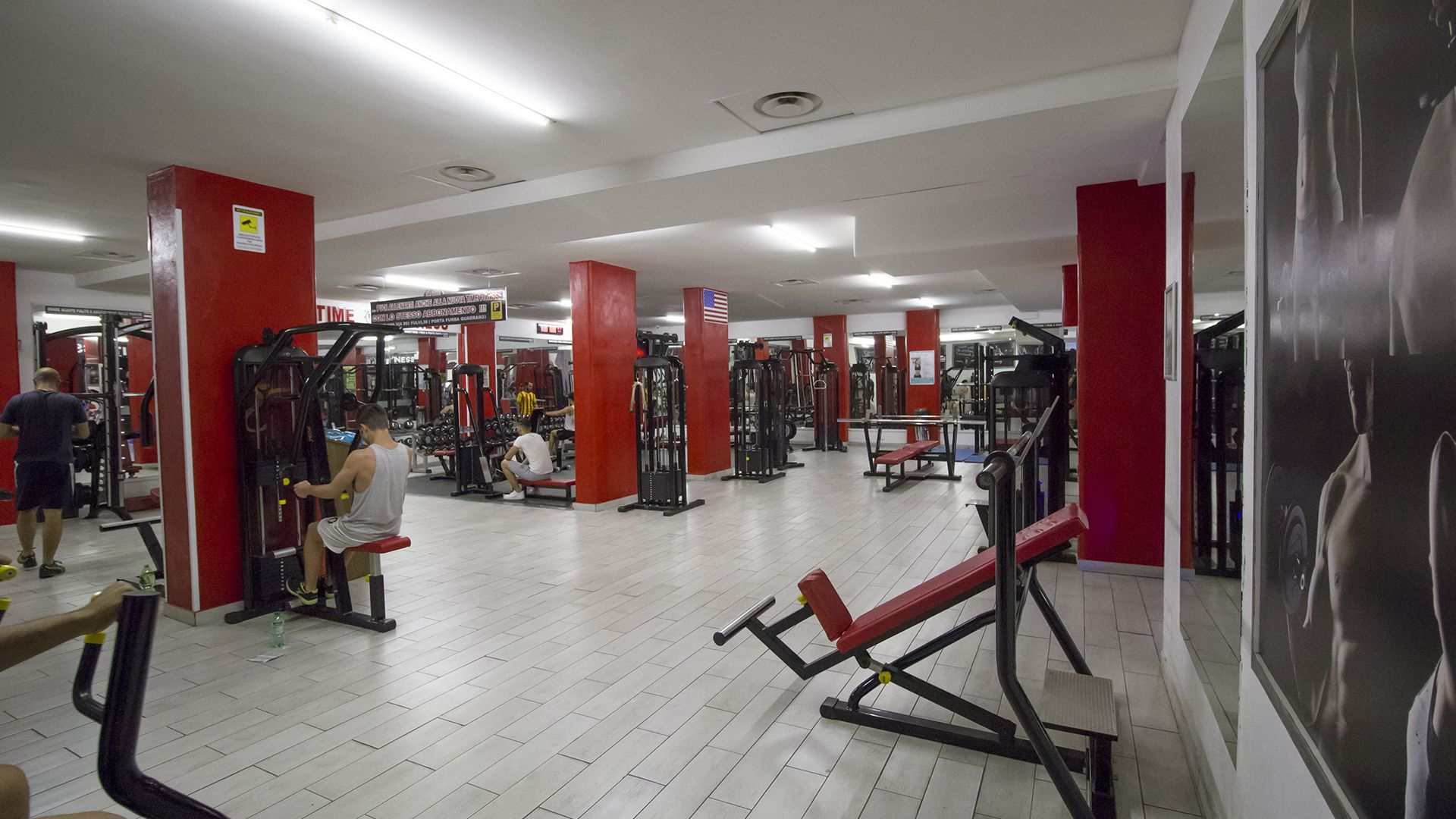 Sala Attrezzi Time Fitness