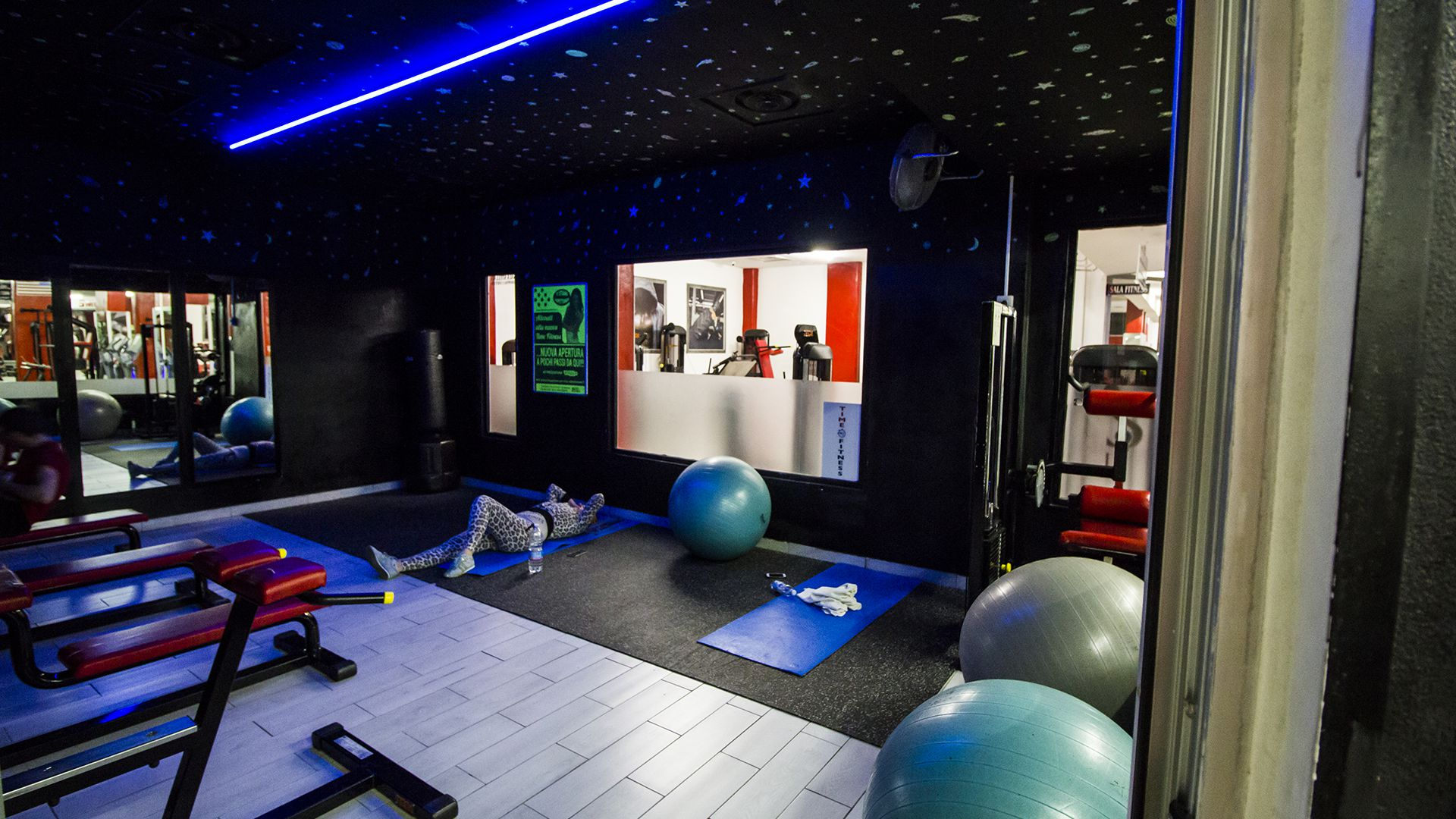 Sala Fitness sotto le Stelle