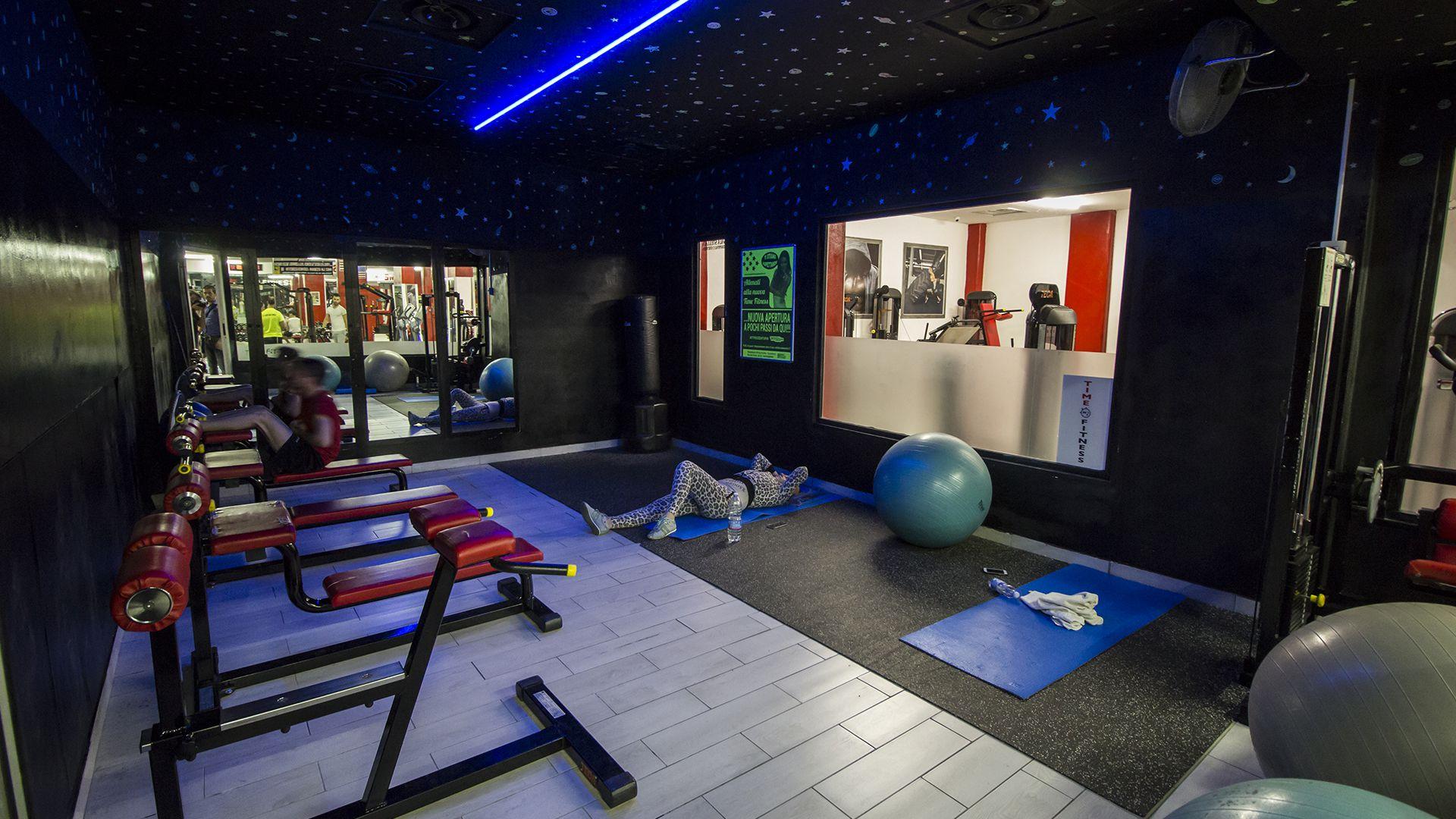 Time Fitness Palestra Sala stellata